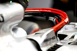 May 25, 2019 - Monte Carlo, Monaco - Motorsports: FIA Formula One World Championship 2019, Grand Prix of Monaco, ..''Niki we miss you'' seen on the Halo system in honor of Niki Lauda (22.02.1949 - 20.05.2019) (Credit Image: © Hoch Zwei via ZUMA Wire)