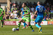 Forest Green Rovers Gavin Gunning(16) runs forward during the EFL Sky Bet League 2 match between Forest Green Rovers and Grimsby Town FC at the New Lawn, Forest Green, United Kingdom on 5 May 2018. Picture by Shane Healey.