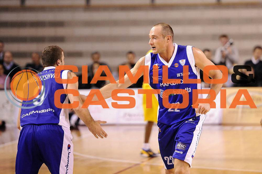 DESCRIZIONE : Ancona Lega A 2012-13 Sutor Montegranaro Chebolletta  Cantu<br /> GIOCATORE : Marco Cusin<br /> CATEGORIA : esultanza<br /> SQUADRA : Chebolletta  Cantu<br /> EVENTO : Campionato Lega A 2012-2013 <br /> GARA : Sutor Montegranaro Chebolletta  Cantu<br /> DATA : 23/12/2012<br /> SPORT : Pallacanestro <br /> AUTORE : Agenzia Ciamillo-Castoria/C.De Massis<br /> Galleria : Lega Basket A 2012-2013  <br /> Fotonotizia : Ancona Lega A 2012-13 Sutor Montegranaro Chebolletta  Cantu<br /> Predefinita :