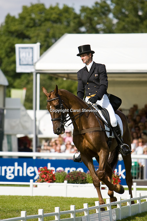 Land Rover Burghley Horse Trials 2010  <br />
