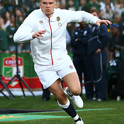 Owen Farrell (captain) of England during the 2018 Castle Lager Incoming Series 1st Test match between South Africa and England at Emirates Airline Park,<br /> Johannesburg.South Africa. 09,06,2018 Photo by (Steve Haag Sports)