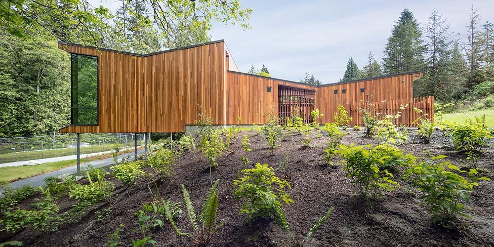 Watershed Stewardship Centre, Kananka Creek Regional Park, British Columbia | Ratio Architecture | 2017