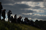June 14-19, 2016: 24 hours of Le Mans. Fans watch racing action