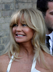 Novak Djokovic Foundation - London Gala Dinner<br /> American actress Goldie Hawn attends the inaugural London fundraiser in aid of tennis champion's foundation raising funds for vulnerable and disadvantaged children, especially in his native Serbia. Takes place day after men's Wimbledon final. Roundhouse, Chalk Farm Road, London, United Kingdom<br /> Monday, 8th July 2013<br /> Picture by Mike  Webster / i-Images