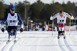 KLEBL Chris, SOULE Andrew, USA, CAN, Long Distance Cross Country, 2015 IPC Nordic and Biathlon World Cup Finals, Surnadal, Norway