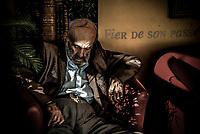 """M. Julian I y G, 78 ans  """"Honneur et fidélité"""", la Légion n'abandonne jamais les siens, au combat comme dans la vie.""""L'IILE, bienvenue au dernier sanctuaire pour vieux légionnaires<br /> """"Honor and loyalty"""", the Legion don't abandon his own, in the combat or in the life.IILE*, welcome to the last sanctuary for old legionaries"""