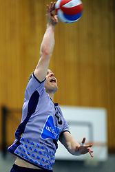 10-12-2011 VOLLEYBAL: ZAANSTAD - ABIANT LYCURGUS: ZAANSTAD<br /> Lycurgus wint vrij moeizaam met 3-2 in Zaanstad / Kieran O Malley <br /> ©2011-FotoHoogendoorn.nl