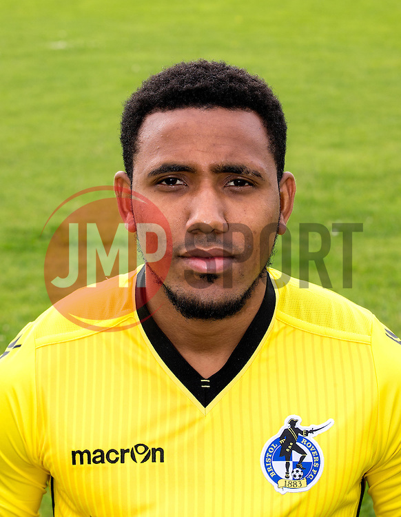 Cristian Montano of Bristol Rovers - Mandatory by-line: Robbie Stephenson/JMP - 04/08/2016 - FOOTBALL - The Lawns Training Ground - Bristol, England - Bristol Rovers Head Shots