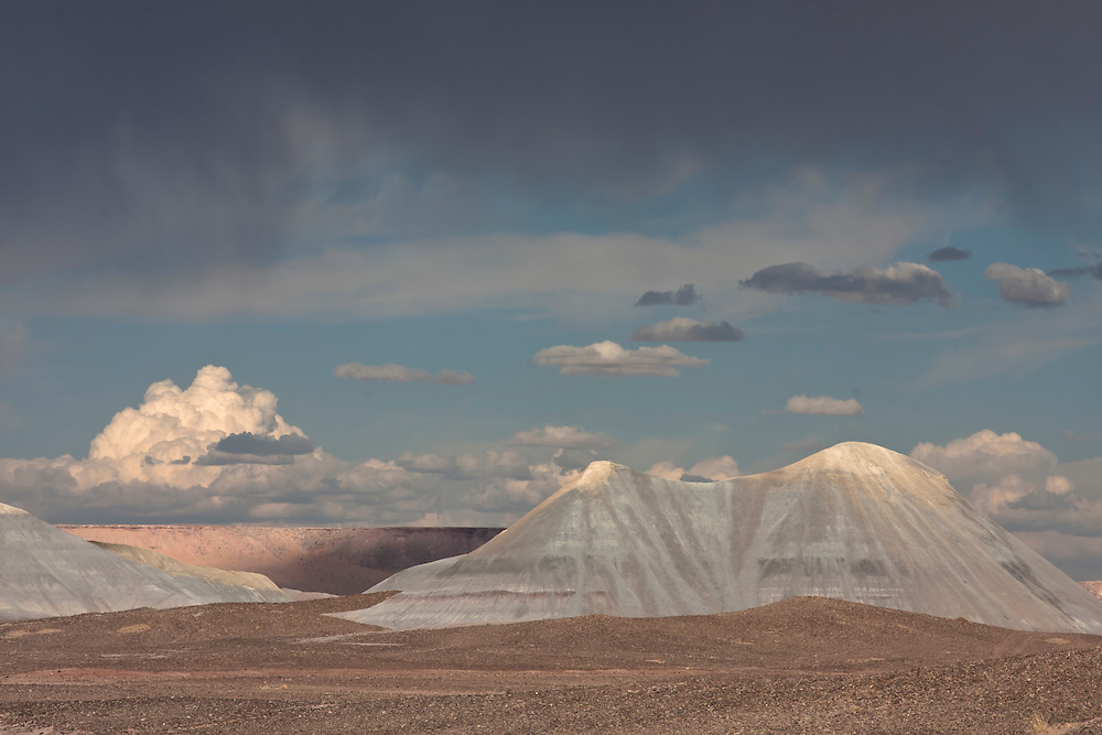 an ephemeral mirage in the painted desert landscape of norhtern Arizona