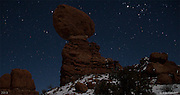 MoonShadow III. Balanced Rock, Arches National Park, Utah - 12/19/12.<br /> I've been in Moab for the end of the world...<br /> Twice...<br /> I spent New Year's Eve at the turn of the century in Canyonlands National Park for sunset, then the small town of Moab at midnight. There were some people who believed the end of the world would come that night. Y2K caused chaos would command computers around the world to send thousands of ICBM missiles heading towards every corner of the planet. It didn't happen of course and the sun rose the next day as it has for millennia.<br /> <br /> This cold, clear, moonlit night was the last full night of the Mayan calendar. The world didn't end and I left Moab a few days later with a couple of memorable shots and a sturdy resolve that if the world is ever destined to end again in my lifetime, all I have to do is go to Moab and patiently wait for the sun to rise again.