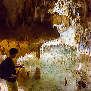 Crystal Caves. East End, Grand Cayman Island.