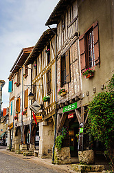 Market square in Eymet, France<br /> <br /> (c) Andrew Wilson | Edinburgh Elite media
