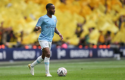 Raheem Sterling of Manchester City on the ball - Mandatory by-line: Arron Gent/JMP - 18/05/2019 - FOOTBALL - Wembley Stadium - London, England - Manchester City v Watford - Emirates FA Cup Final
