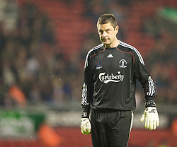 LIVERPOOL, ENGLAND - Thursday, May 14, 2009: All Stars' goalkeeper Bobby Mimms during the Hillsborough Memorial Charity Game at Anfield. (Photo by David Rawcliffe/Propaganda)