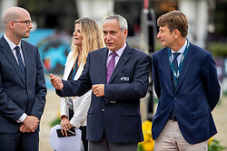 Baumgartner Matthieu, De Vos Ingmar, Curro Espinos<br /> Longines FEI Jumping Nations Cup Final<br /> Challenge Cup - Barcelona 2019<br /> © Dirk Caremans<br />  06/10/2019