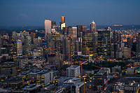 The Seattle Metropolis @ Blue Hour
