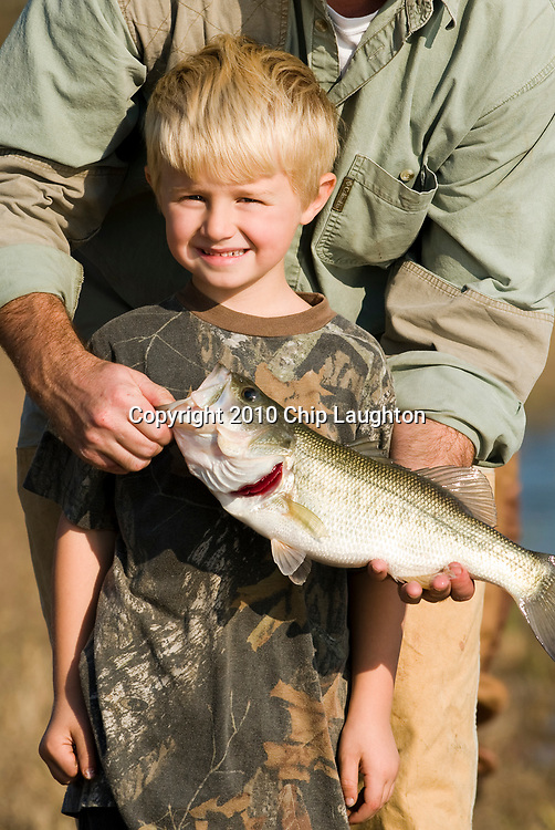 bass fishing stock photo image
