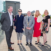 11.05. 2017.                                                 <br /> Over 20 leading Irish and international fashion media and influencers converged on Limerick for 24 hours on, Thursday, 11th May for a showcase of Limerick's fashion industry, culminating with Limerick School of Art & Design, LIT, presenting the LSAD 360° Fashion Show, sponsored by AIB.<br /> Pictured at the event were, Liam Brown, LIT, Frances O'Connell, LIT, Cllr. Kieran O'Hanlon, Mayor of Limerick City and County, Breda Harkins, LIT and Linda Barry, LIT. Picture: Alan Place