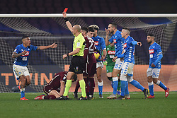 February 17, 2019 - Naples, Naples, Italy - Allan of SSC Napoli during the Serie A TIM match between SSC Napoli and FC Torino at Stadio San Paolo Naples Italy on 17 February 2019. (Credit Image: © Franco Romano/NurPhoto via ZUMA Press)