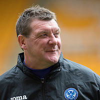 St Johnstone Training...30.08.13<br /> Manager Tommy Wright pictured in training this morning at McDiarmid Park ahead of tomorrow's game at Aberdeen.<br /> Picture by Graeme Hart.<br /> Copyright Perthshire Picture Agency<br /> Tel: 01738 623350  Mobile: 07990 594431