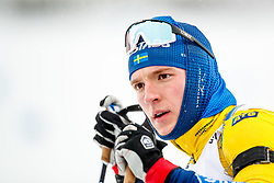 March 16, 2019 - –Stersund, Sweden - 190316 Sebastian Samuelsson of Sweden ahead the Men's 4x7,5 km Relay during the IBU World Championships Biathlon on March 16, 2019 in Östersund..Photo: Johan Axelsson / BILDBYRÃ…N / Cop 245 (Credit Image: © Johan Axelsson/Bildbyran via ZUMA Press)