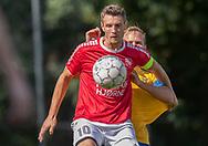 Nicklas Bøgelund (Ejby) under kampen i Serie 2 mellem Ølstykke FC og Ejby IF den 7. september 2019 på Ølstykke Stadion. Foto: Claus Birch.