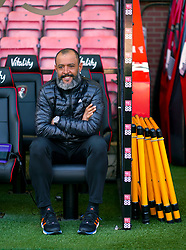 Wolverhampton Wanderers manager Nuno Espirito Santo ahead of the Premier League match at the Vitality Stadium, Bournemouth.