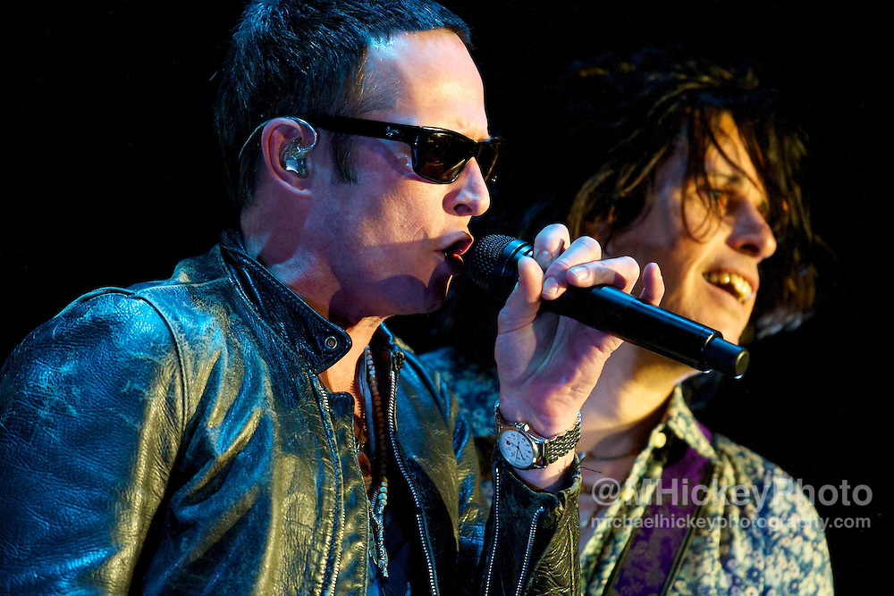 Scott Weiland of Stone Temple Pilots performs during the 2010 Big Dance Concert Series in Indianapolis, Indiana.