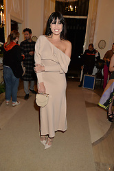 DAISY LOWE at a party to kick off London Fashion Week hosted by US Ambassador Matthew Barzun and Mrs Brooke Brown Barzun with Alexandra Shulman in association with J.Crew hrld at Winfield House, Regent's Park, London on 18th September 2015.