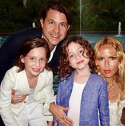 """Rachel Zoe releases a photo on Twitter with the following caption: """"""""Starting off #2019 holding on tight to what matters most in my life 💞 Wishing  everyone a happy, healthy and most glamorous New Year!❤️ xoRZ"""""""". Photo Credit: Twitter *** No USA Distribution *** For Editorial Use Only *** Not to be Published in Books or Photo Books ***  Please note: Fees charged by the agency are for the agency's services only, and do not, nor are they intended to, convey to the user any ownership of Copyright or License in the material. The agency does not claim any ownership including but not limited to Copyright or License in the attached material. By publishing this material you expressly agree to indemnify and to hold the agency and its directors, shareholders and employees harmless from any loss, claims, damages, demands, expenses (including legal fees), or any causes of action or allegation against the agency arising out of or connected in any way with publication of the material."""