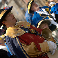 Edinburgh 31th March 2007 The Lord Provost's Invitational Town Criers' Tournament. Mercat Cross, High Street