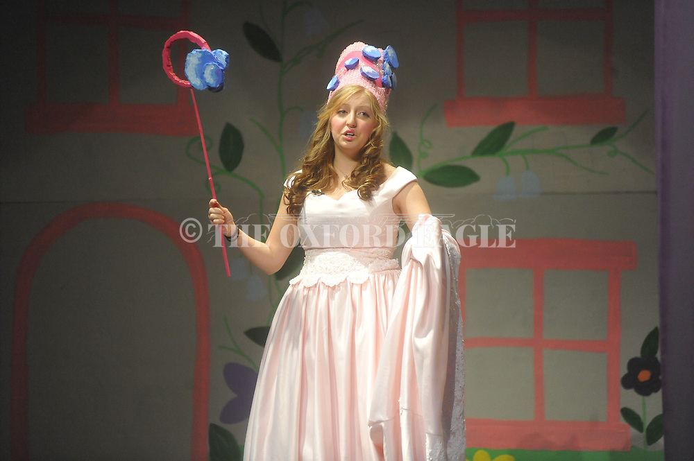 Lakyn Collier is Glinda as Oxford High students rehearse The Wizard of Oz for the annual school musical in Oxford, Miss. on Tuesday, February 8, 2011.