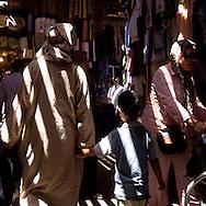 Morocco Marrakech, Medina souk, bazar , market in the center of the medina, old city /  les souks , marche couvert dans le centre de la Medina, dans la vielle ville    Marrakech - Maroc