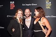 Guest, Director Gabriel Taraboulsy, and Guest