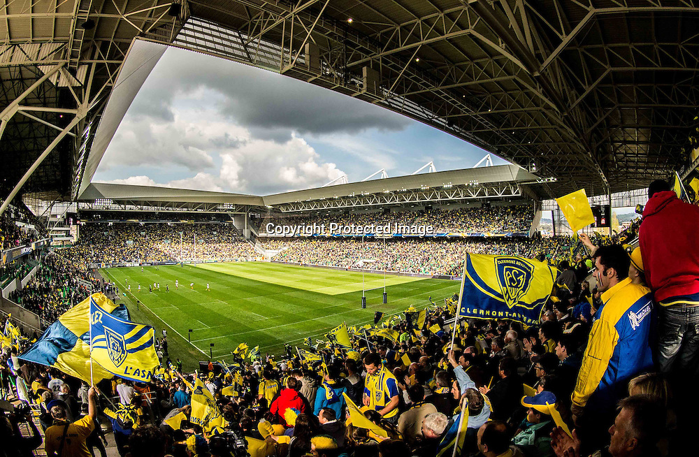 European Rugby Champions Cup Semi-Final, Stade Geoffroy-Guichard, Saint-Etienne, France 18/4/2015<br /> ASM Clermont Auvergne vs Saracens<br /> General view of Stade Geoffroy-Guichard<br /> Mandatory Credit &copy;INPHO/James Crombie