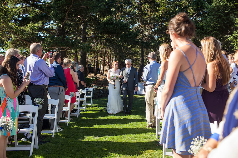 Taylor Michels and Kip Nordby wedding. <br /> <br /> Rosario Resort, Orcas Island, Washington. August 20, 2016.<br /> <br /> Photo by Matt Mills McKnight