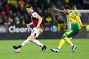 Burnley defender James Tarkowski (5) in possession of the ball during the The FA Cup match between Burnley and Norwich City at Turf Moor, Burnley, England on 25 January 2020.