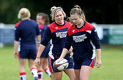 Marlie Packer and Chantelle Miell of Bristol Ladies - Mandatory by-line: Robbie Stephenson/JMP - 18/09/2016 - RUGBY - Cleve RFC - Bristol, England - Bristol Ladies Rugby v Aylesford Bulls Ladies - RFU Women's Premiership