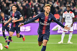 October 7, 2018 - Paris, ile de france, France - Neymar Jr during the french Ligue 1 match between Paris Saint-Germain (PSG) and Olympique Lyonnais (OL, Lyon) at Parc des Princes stadium on October 7, 2018 in Paris, France. (Credit Image: © Julien Mattia/NurPhoto/ZUMA Press)
