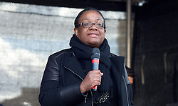 Diane Abbott, MP speaks at Stand up to Racism and Fascism Rally  from Westminster to Trafalgar Square. Rally and speeches in Trafalgar Square including speeches by  Diane Abbott, MP.London, United Kingdom. Saturday, 22nd March 2014. Picture by Elliott Franks / i-Images