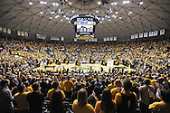 WICHITA, KS - NOVEMBER 12:  A general view of Charles Koch Arena before a game between the Wichita State Shockers and the Western Kentucky Hilltoppers on November 12, 2013 in Wichita, Kansas.  (Photo by Peter Aiken/Getty Images) *** Local Caption ***