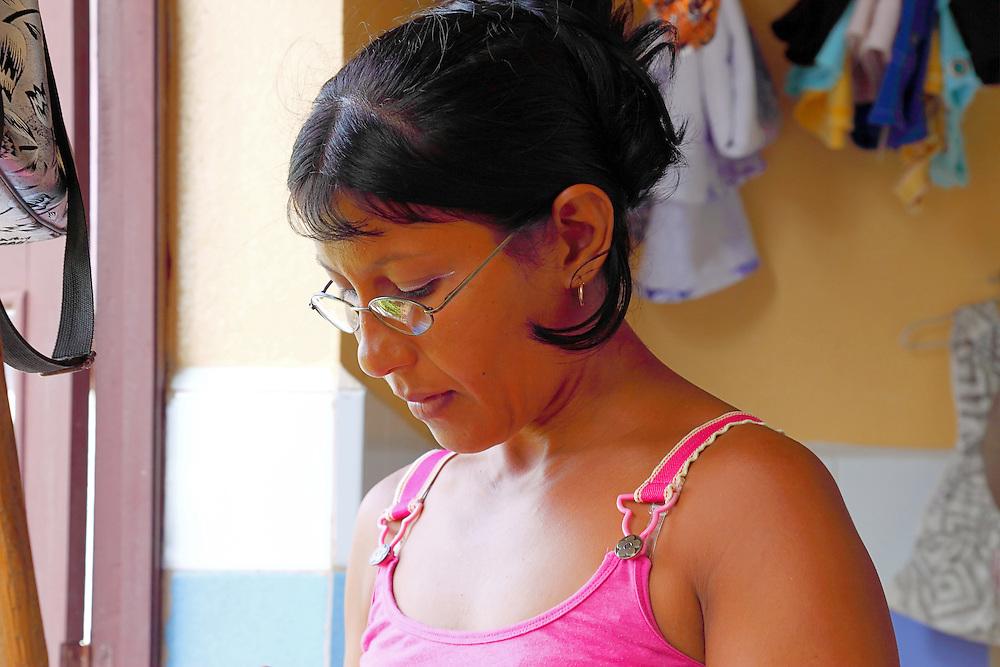 Woman in Baracoa, Guantanamo, Cuba.