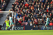Pierre-Emerick Aubameyang (14) of Arsenal shoots over the bar during the Premier League match between Bournemouth and Arsenal at the Vitality Stadium, Bournemouth, England on 25 November 2018.