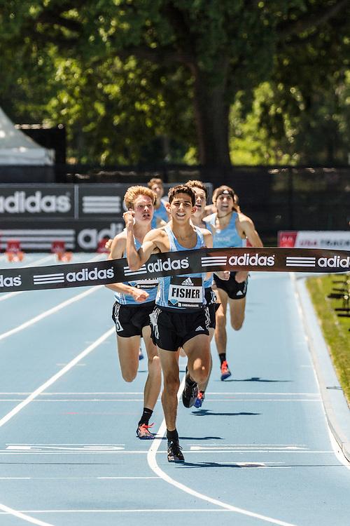 adidas Grand Prix Diamond League Track & Field: Boys Dream Mile, Grant Fisher wins