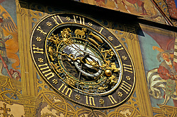 14th century , Astronomical Clock , Building Facade , Color , Horizontal , No People , Old , Paintings , Travel. Tourist