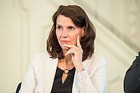 27 JUN 2017, BERLIN/GERMANY:<br /> Rita Schwarzeluehr-Sutter, MdB, SPD, Parl. Staatssekretaerin im Bundesministerium fuer Umwelt, Naturschutz, Bau und Reaktorsicherheit, 25. bbh-Energiekonferenz &quot;Letzte Ausfahrt Dekarbonisierungf Energie- und Mobilit&auml;tswende&quot;, Franz&ouml;sischer Dom<br /> IMAGE: 20170627-01-058<br /> KEYWORDS: Rita Schwarzel&uuml;hr-Sutter
