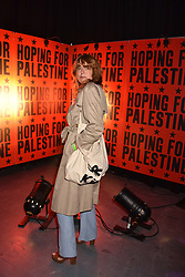 """Kim Sion at """"Hoping For Palestine"""" Benefit Concert For Palestinian Refugee Children held at The Roundhouse, Chalk Farm Road, England. 04 June 2018."""
