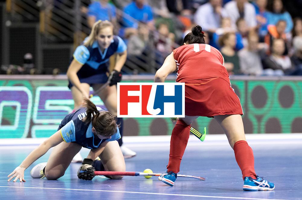 BERLIN - Indoor Hockey World Cup<br /> Bronze: Ukraine - Belarus<br /> foto: M<br /> WORLDSPORTPICS COPYRIGHT FRANK UIJLENBROEK