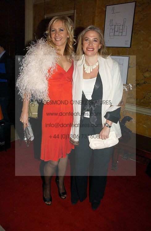 Left to right, sisters TV presenter TANIA BRYER and MRS LESLEY KING-LEWIS at a party hosted by Westfield and the British Fashion Council to celebrate Fashion Forward held at Home House, 20 Portman Square, London W1 on 30th January 2007.<br />