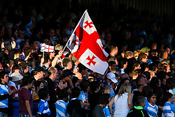 Flag from Georgia in the stands - Mandatory byline: Rogan Thomson/JMP - 07966 386802 - 25/09/2015 - RUGBY UNION - Kingsholm Stadium - Gloucester, England - Argentina v Georgia - Rugby World Cup 2015 Pool C.